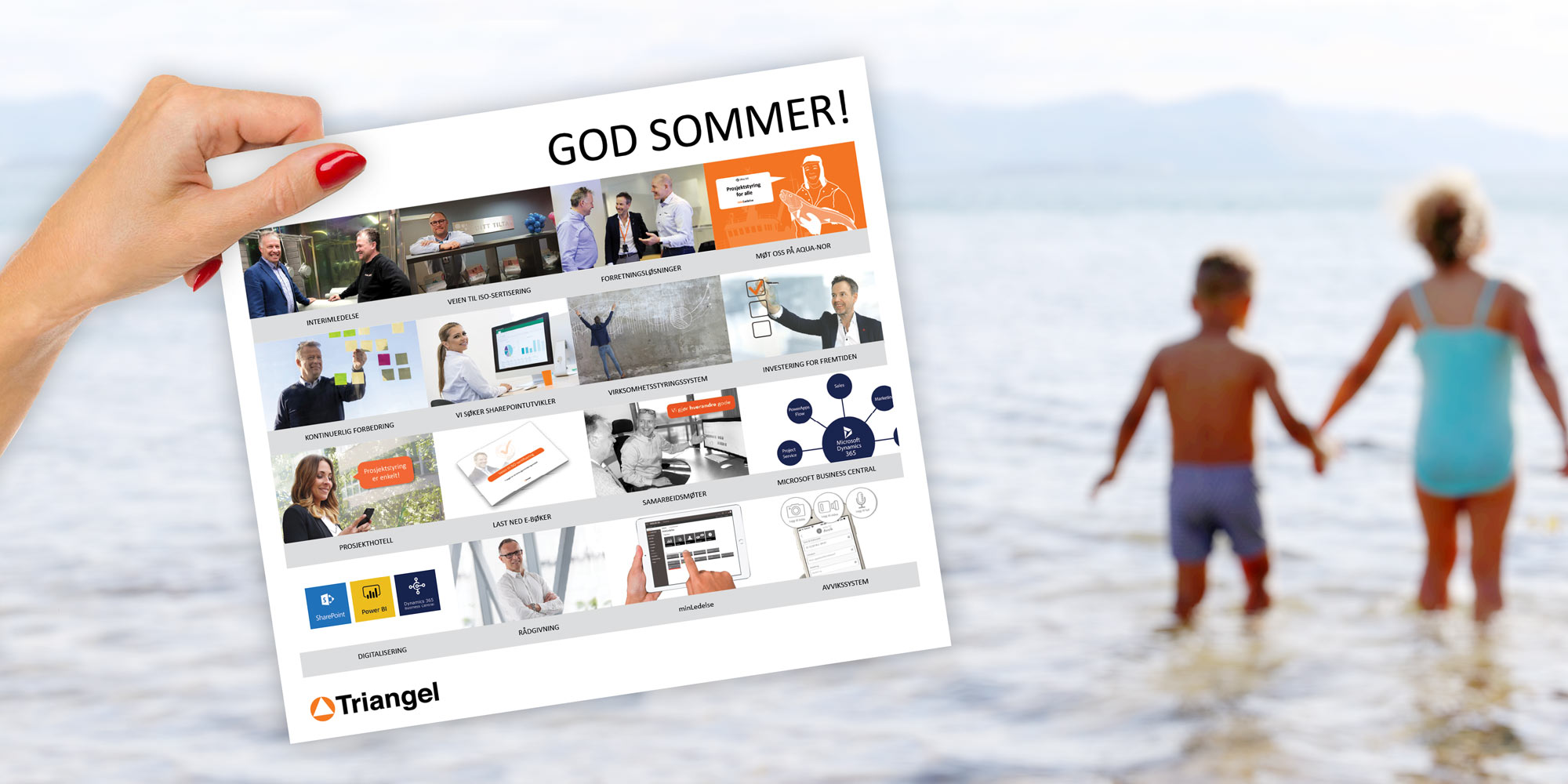Sommerbrev 2019 Triangel